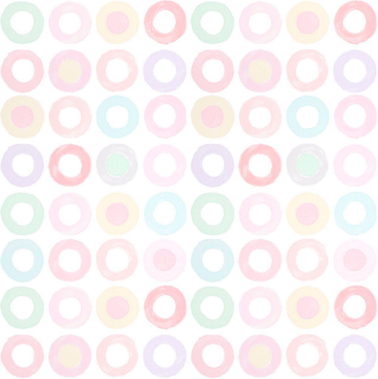 Papel de Parede Adesivo Teca - Candy