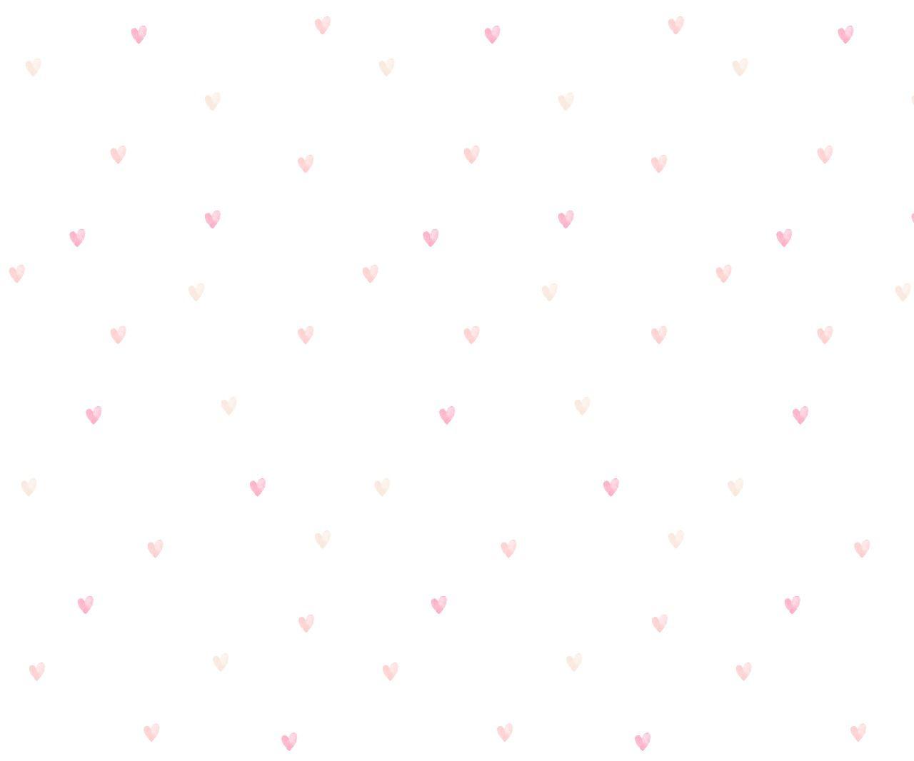 Papel de Parede corações Clau - Tons de Rosa