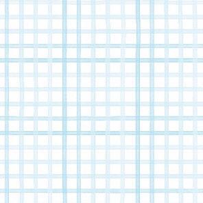 Papel de Parede Quadriculado Didi - Azul
