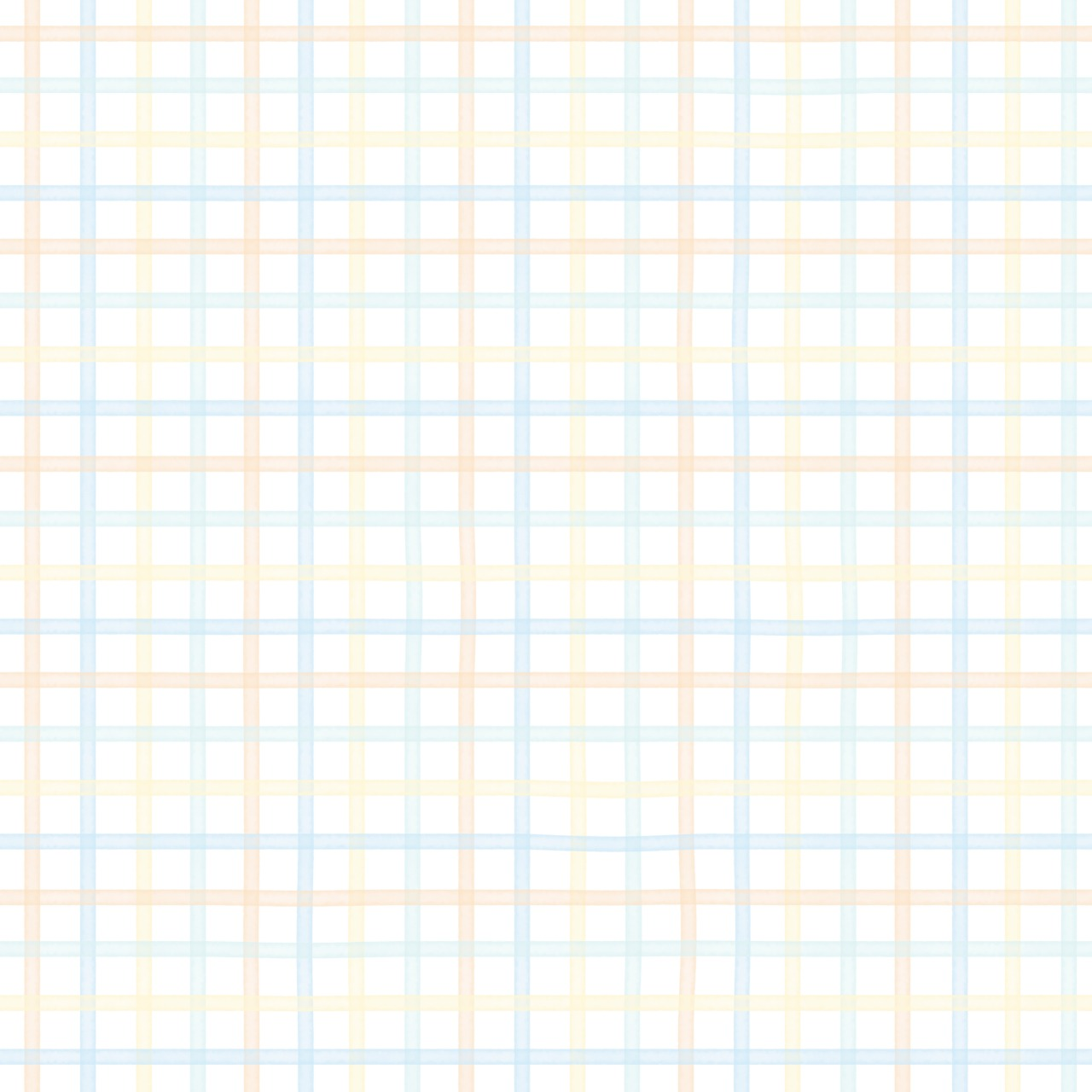 Papel de Parede Quadriculado Didi - Colorido