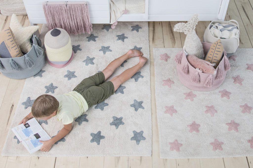 Tapete Estrelas Drica Natural Nude  - Ideias de Mamãe