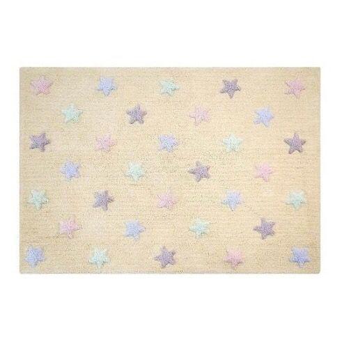 Tapete Estrelas Drica Tricolor  - Ideias de Mamãe