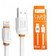 Cabo De Dados Turbo 3.0 USB Lightning 2M Hrebos