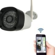 Câmera Externa Ip Wi-Fi Segurança Wireless Visão Noturna Hd 720p