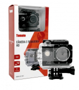 Câmera Filmadora Hd De Esportes Tomate Preta Mt1081