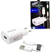 Carregador Samsung Turbo Travel Adapter 3.0 30w Micro Usb V8