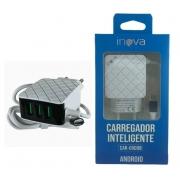 Carregador Turbo Android V8 Micro Usb Inova 5.1a CAR-G5098