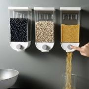 Dispenser Dosador de Cereais e Grãos para Parede 1500 ml