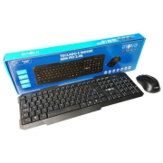 Kit Mouse e Teclado Sem Fio Wireless Inova Key-8389