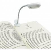 Luminária Luz Led para Leitura Prendedor Clips Livro Flexível