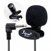 Microfone Lapela para Computador Pc Notebook Knup KP-911