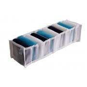 Organizador de Gavetas Colmeia Transparente 10 Compartimentos 35x24x10cm