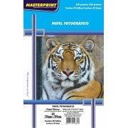 Papel Fotográfico A4 230g Glossy Brilho Masterprint 50 Folhas
