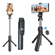 Pau de Selfie Suporte Tripé para Celular com Controle Bluetooth It-Blue LE-075