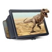 Tela Lente de Aumento 3d Suporte Ampliadora Zoom Celular F2