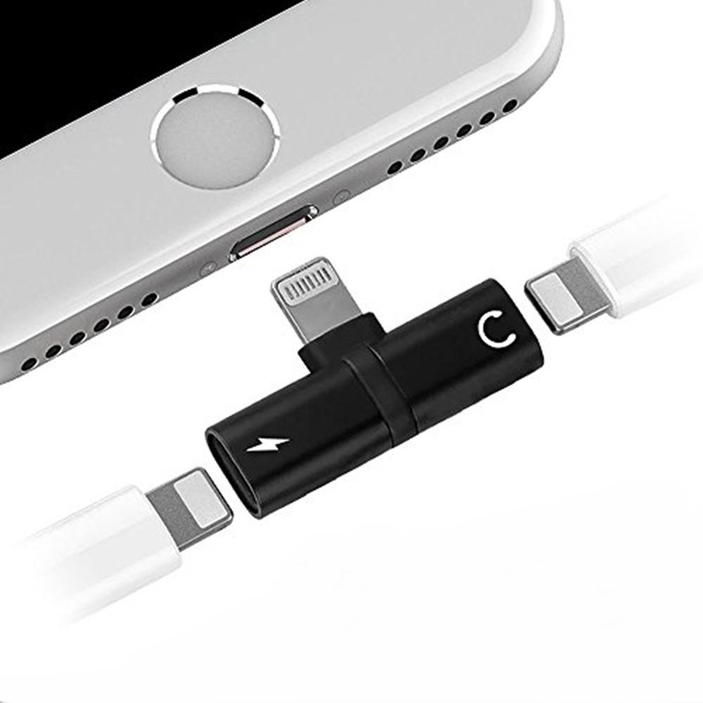 Adaptador Lightning Áudio e Carregador para Iphone