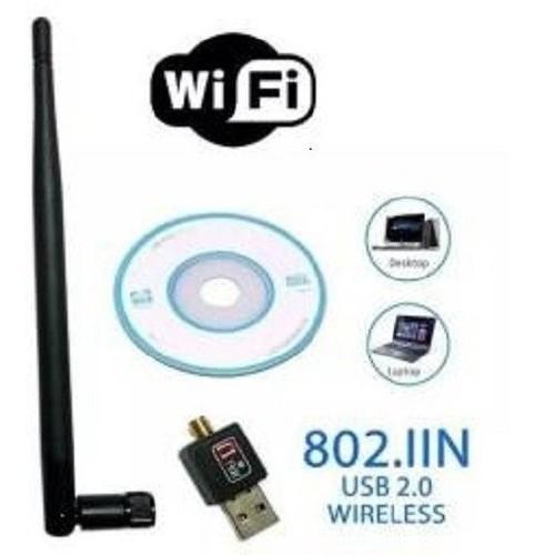 Adaptador Receptor Wifi Usb Antena 1200mbps PC e Notebook