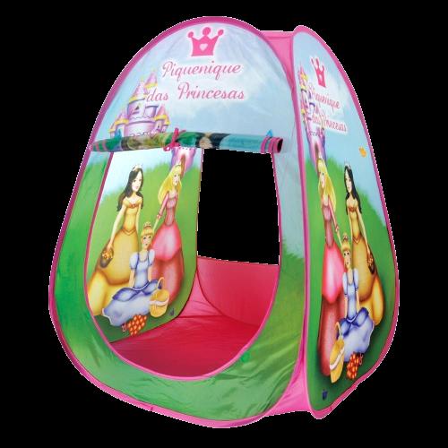 Barraca Infantil Piquenique das Princesas Cabana Dobrável