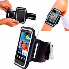 Braçadeira Armband Suporte Celular Caminhada Corrida Academia