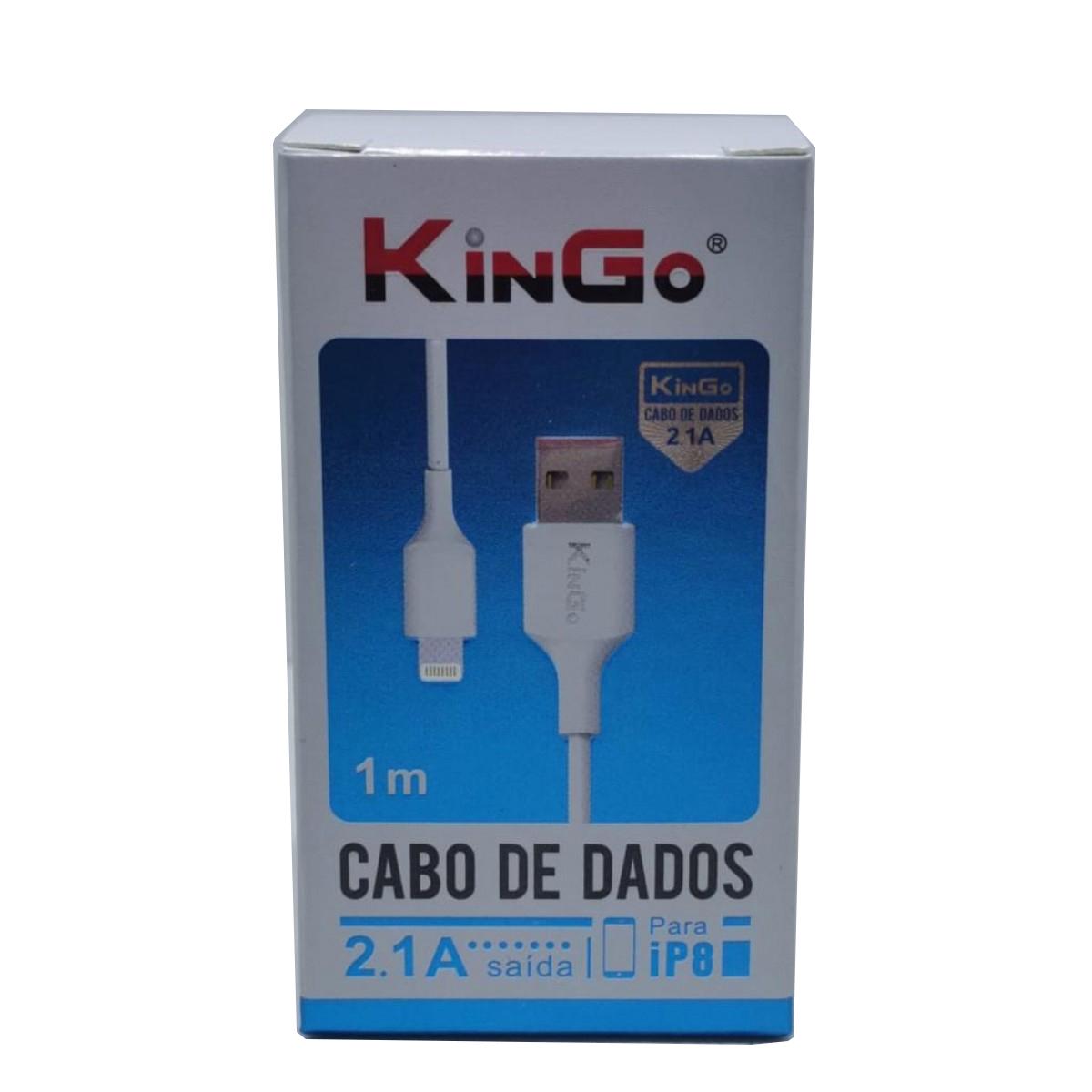 Cabo De Dados E Carregamento Kingo Usb Lightning
