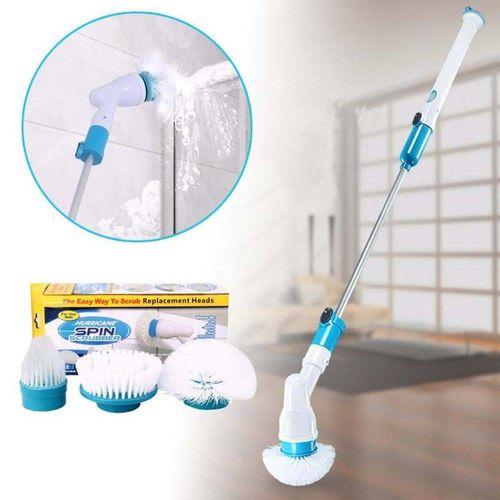 Escova Esfregão 3 em 1 Elétrica Limpeza Fácil Recarregável Bivolt Spin Scrubber
