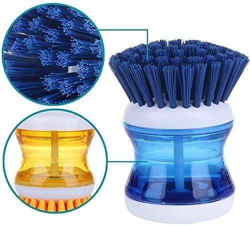 Escova Lava Louça com Dispenser de Detergente