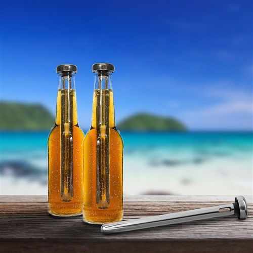 Kit Bastão Gela Cerveja Long Neck - 1 Par