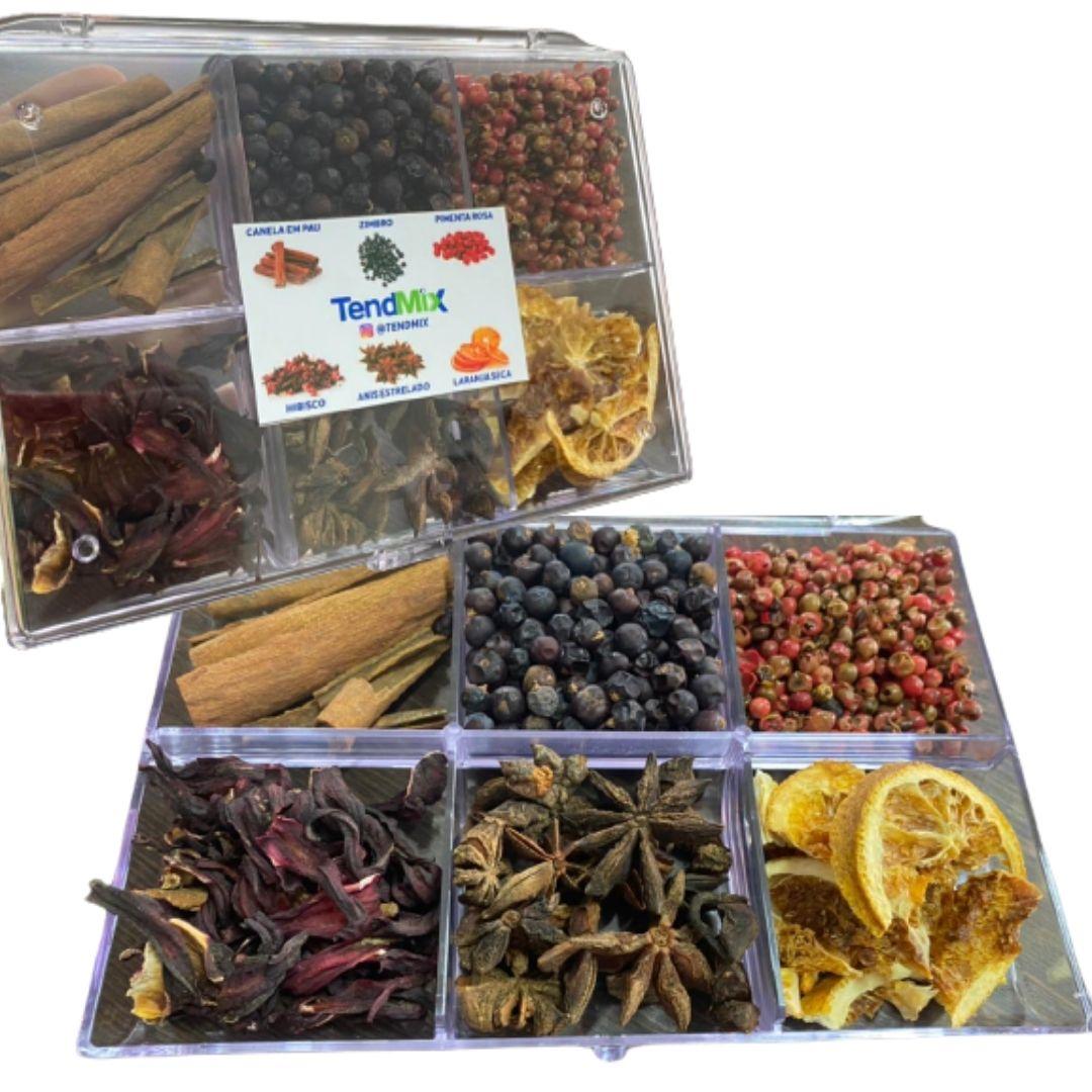 Kit 6 Especiarias para Gin Tônica