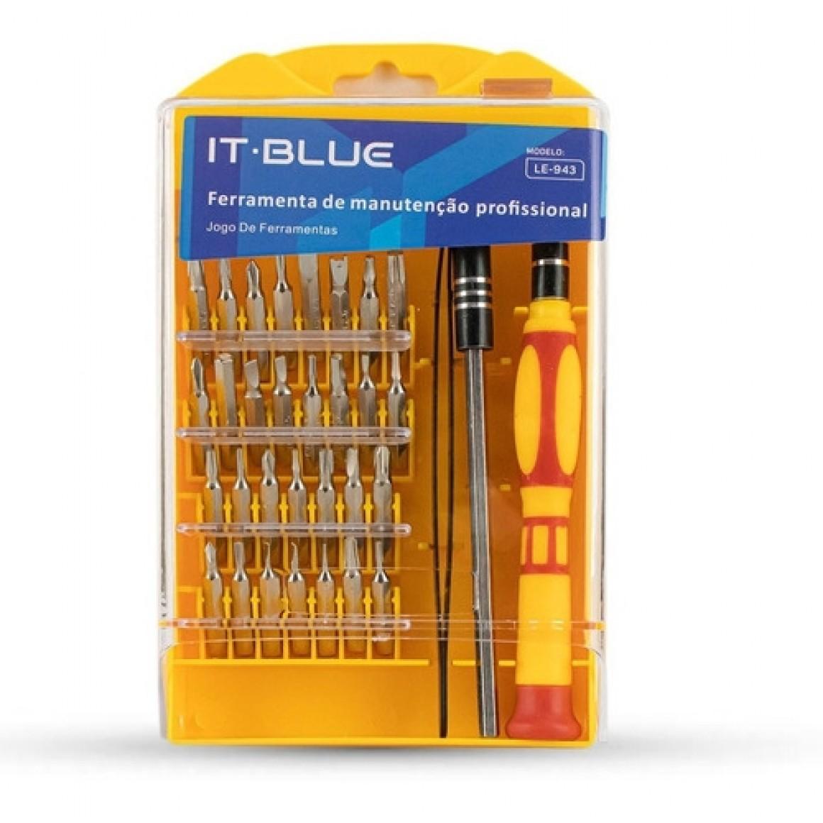 Kit Ferramenta 30 Em 1 It.Blue Le-943