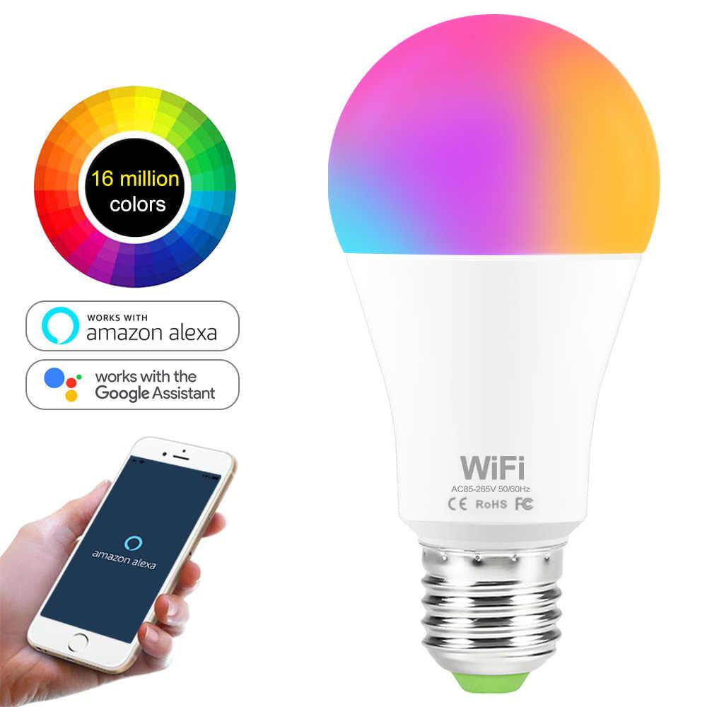 Lâmpada Smart Bulbo Led Wi-fi Inteligente 15w RGB Alexa
