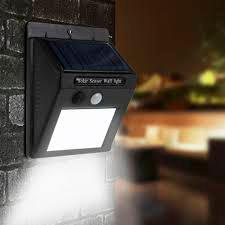 Luminária Solar 20 Leds com Sensor de Presença