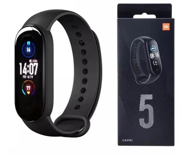 Miband 5 Relógio Pulseira Inteligente Global Original Xiaomi