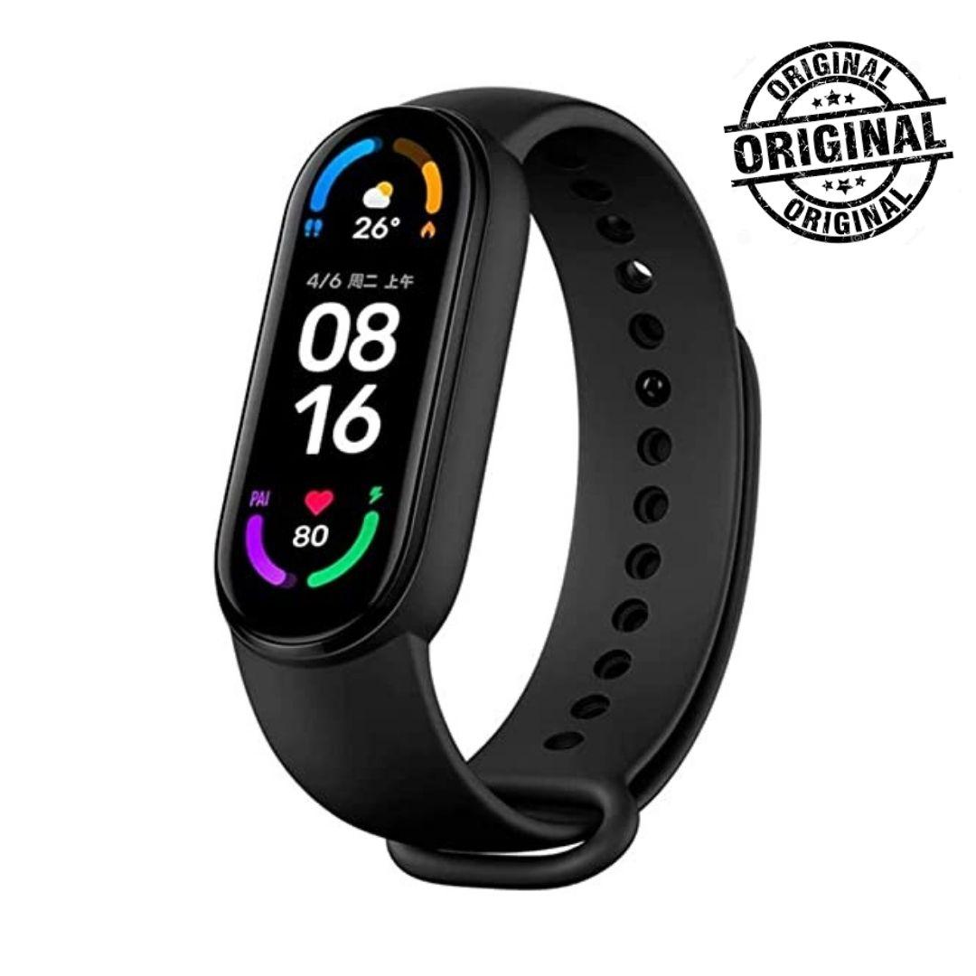 Miband 6 Relógio Pulseira Inteligente Global Original Xiaomi Lançamento