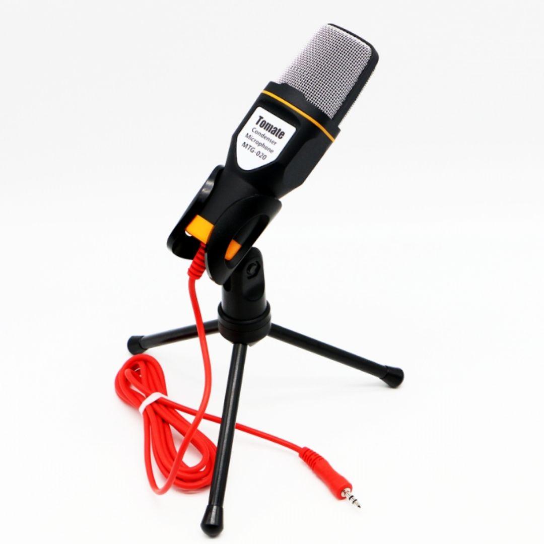 Microfone Condensador P2 Games Abafa Ruído Externo De Mesa MTG-020