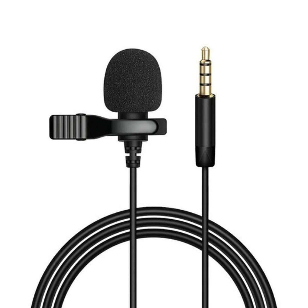 Microfone Lapela Celular Smartphone Notebook Youtuber