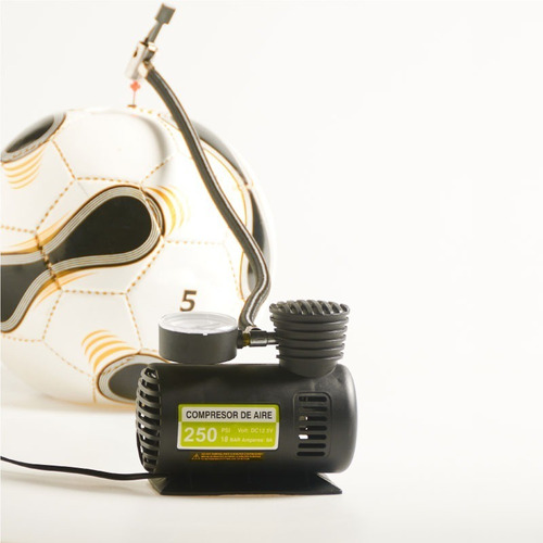 Mini Compressor de Ar Veicular 12v  250psi Carro Moto Bicicleta
