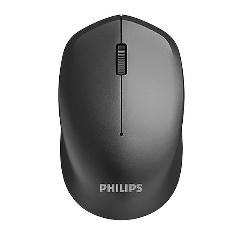 Mouse Sem Fio Óptico Philips M344 Sensor 3 Botões