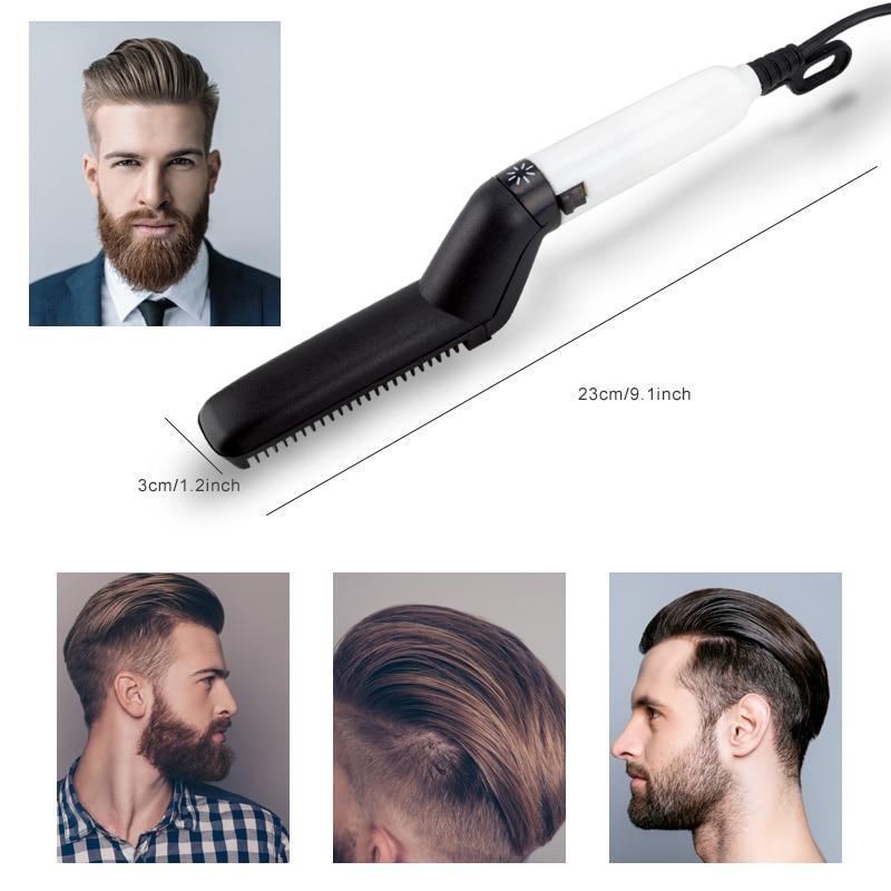 Prancha Chapinha Modelador e Alisador Cabelo e Barba Masculina