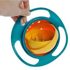 Prato Mágico Infantil Giratório 360° Giro Bowl