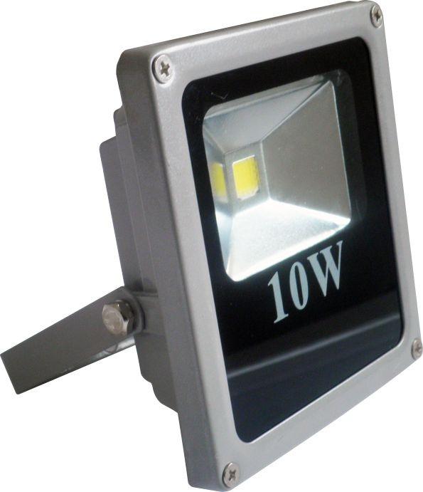 Refletor Holofote Led Branco Frio Prova D'água 10w Bivolt