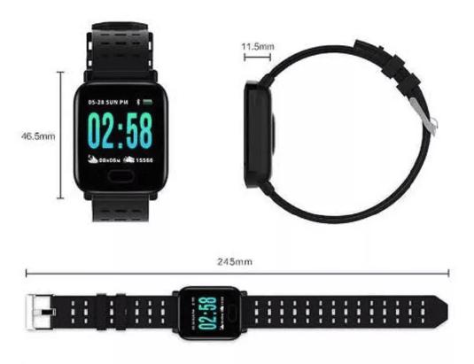 Relógio Smart Bracelete Tomate MTR-23 Batimentos Calorias