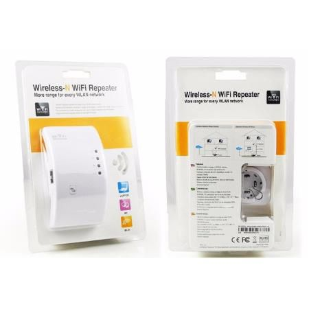 Repetidor Wireless-n Sinal Wifi Repeater 300mbps