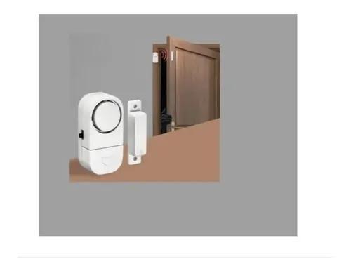 Sensor Alarme Magnético Sirene Para Porta Janela Sem Fio