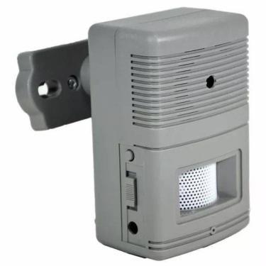 Sensor Detector de Presença Anunciador Sonoro Casa Apartamento Loja