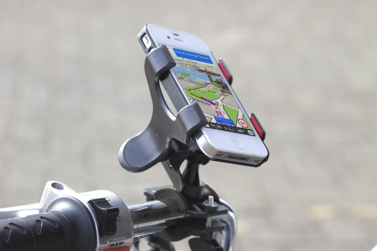 Suporte de Celular para Moto e Bicicleta Presilha