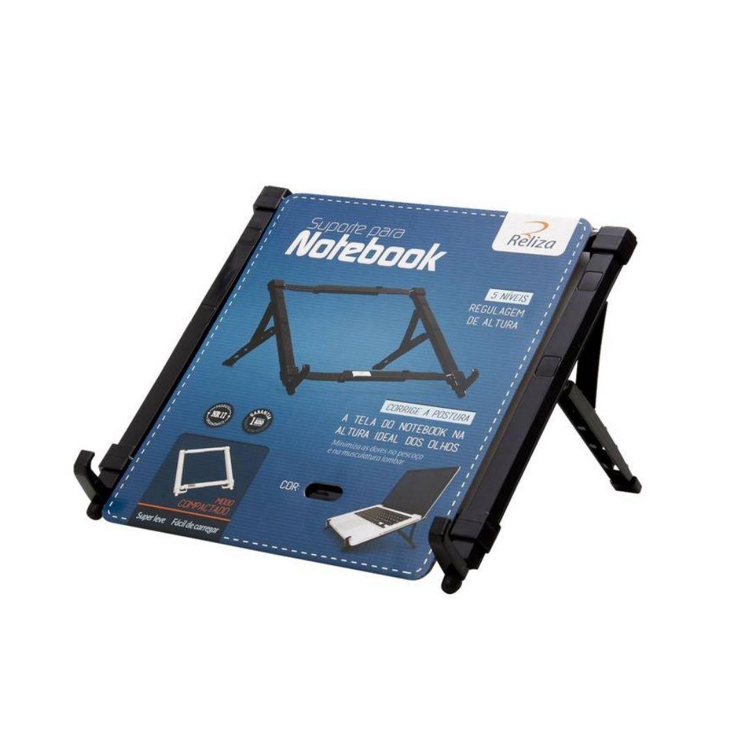 Suporte Para Notebook Plástico Regulável Ergonômico Nr17