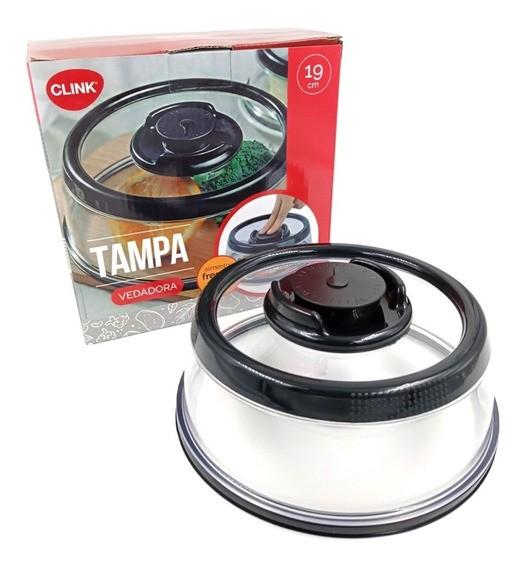 Tampa Vedadora À Vácuo 19cm para Alimentos