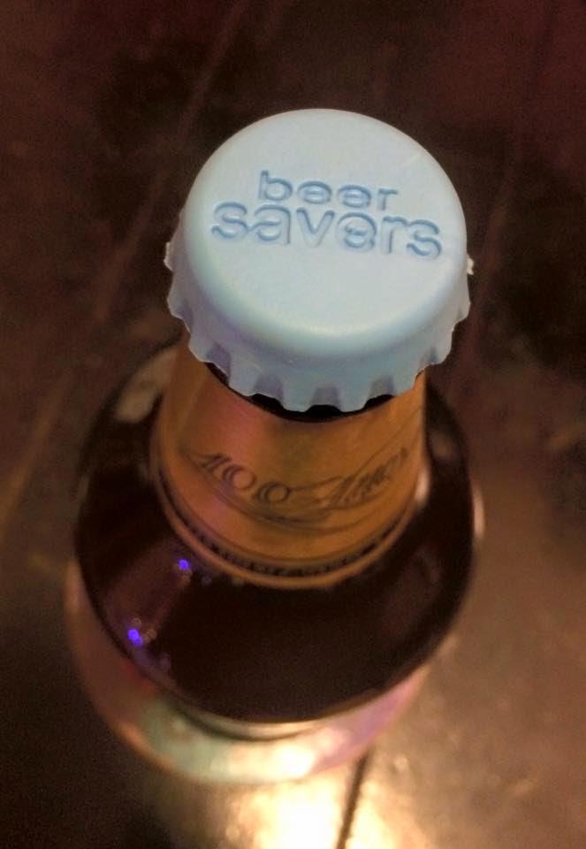 Tampas de Silicone Garrafa de Cerveja 6 unidades - Beer Savers