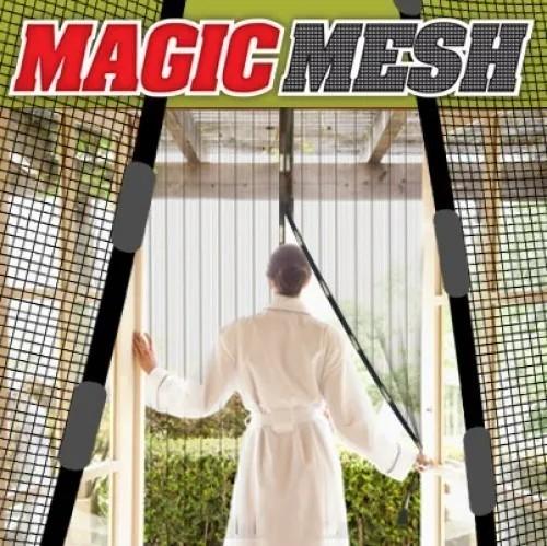 Tela Mosquiteiro Porta Magnética 2,1x1m Contra Zika Dengue