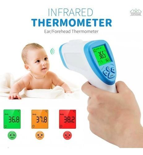 Termômetro Infravermelho Corporal Febre Criança Adulto